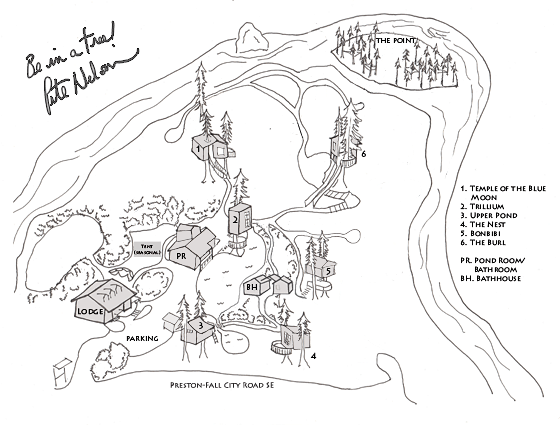 Treehouse Point Property Map