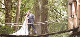 Imagine your wedding at TreeHouse Point
