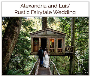 Alexandria and Luis' Rustic Fairytale Wedding