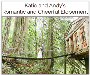 Katie and Andy's Romantic and Cheerful Elopement