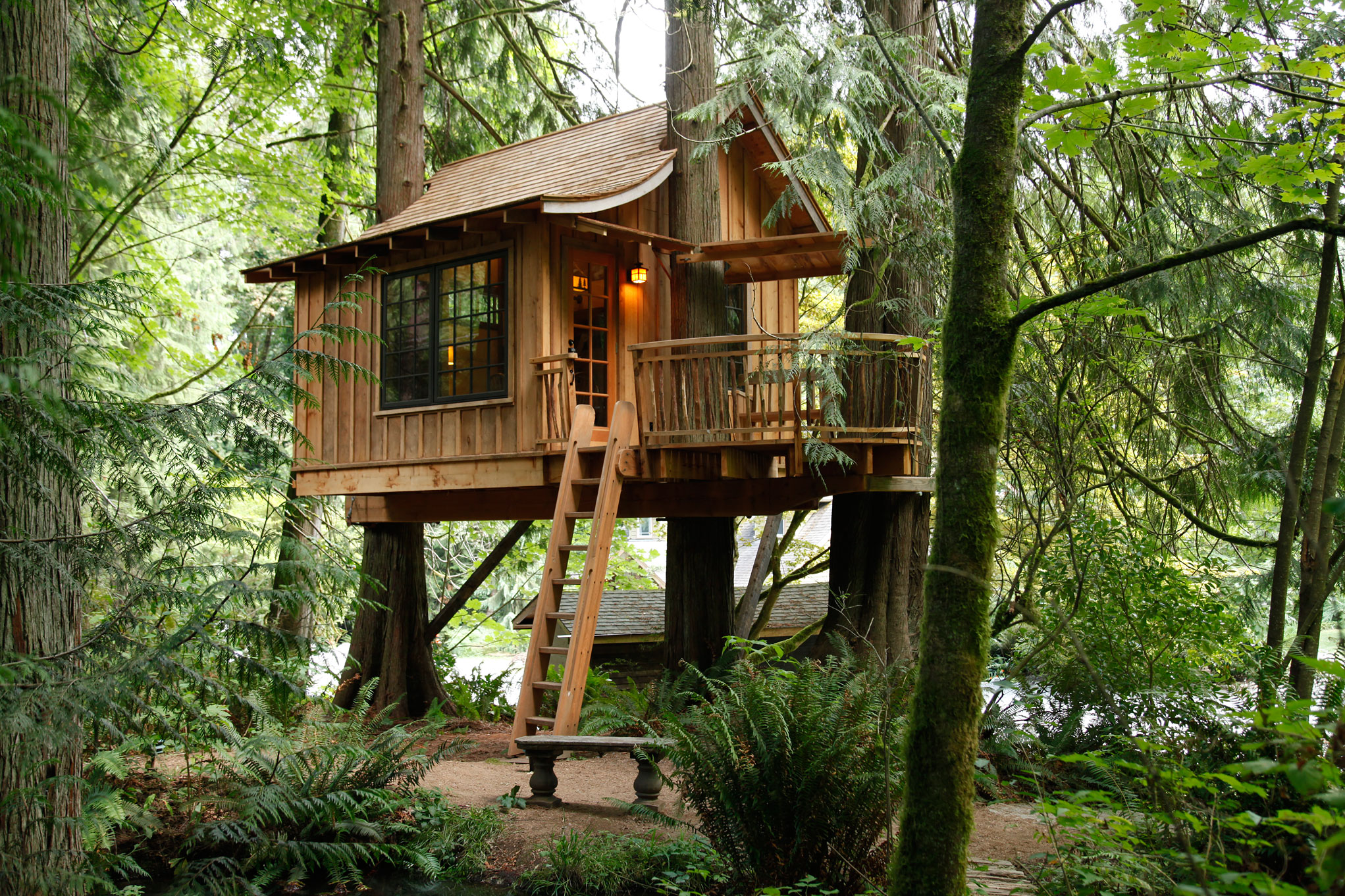 2 Story Home Plans Treehouse Point