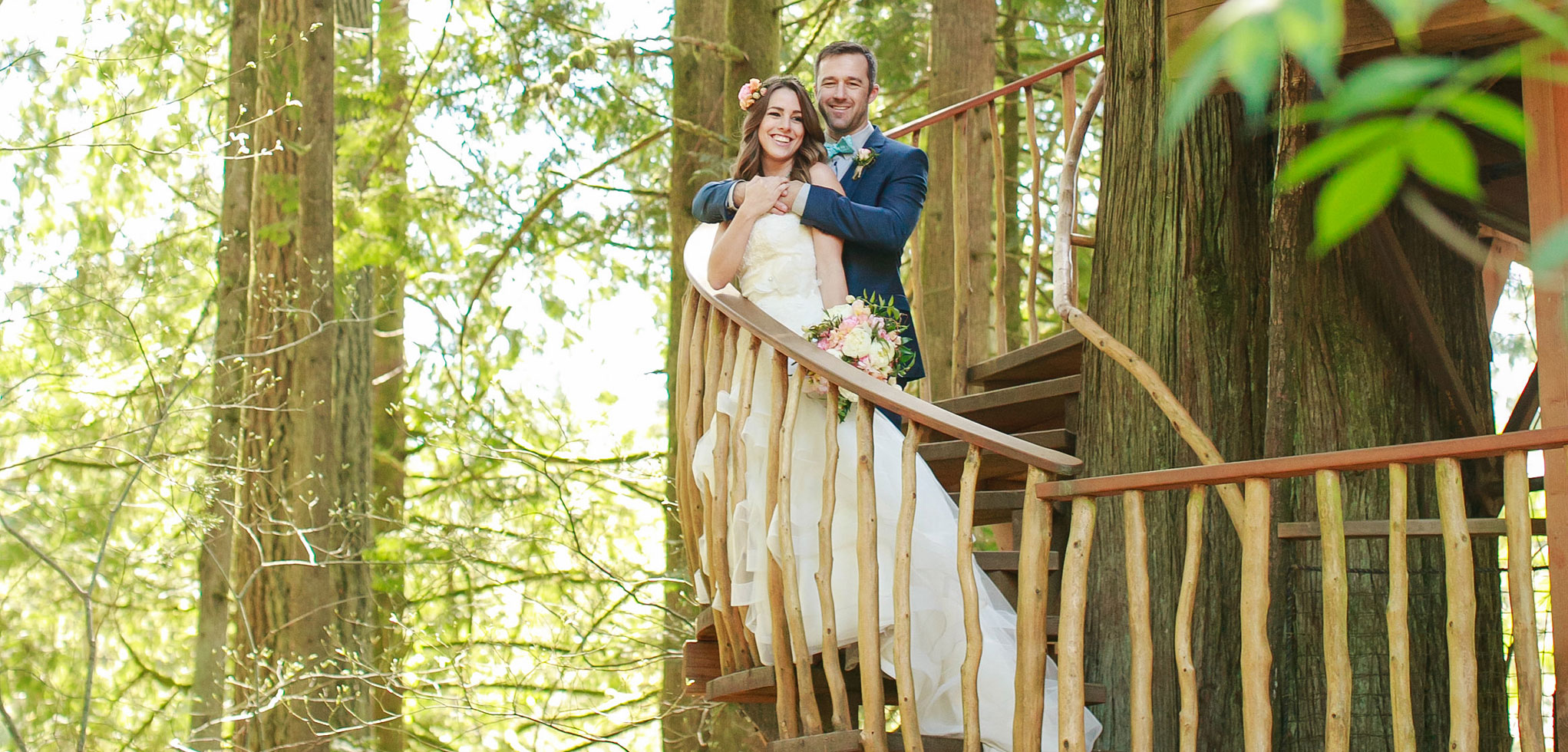 Plan your Wedding at Treehouse Point in Fall City Washington